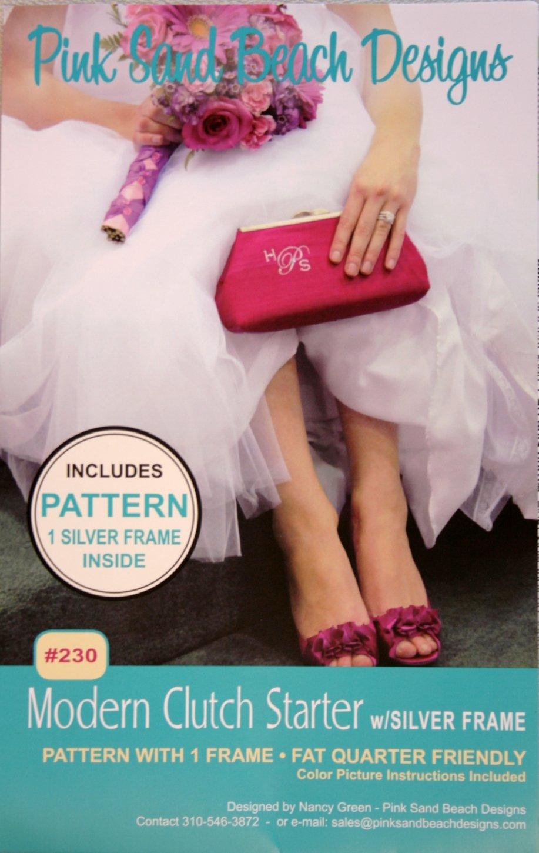 Pink Sand Beach Designs Modern Clutch Pattern #230