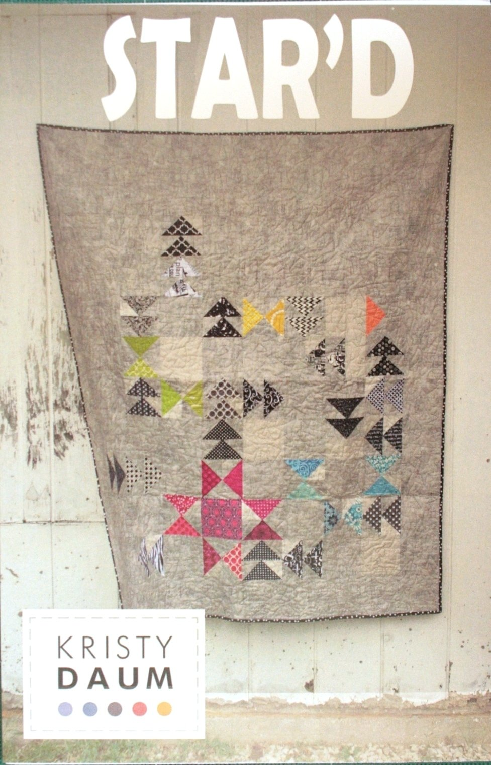 Kristy Daum St. Louis Folk Victorian Star'd quilt pattern