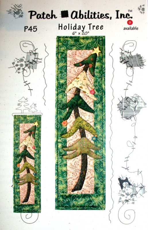 Pattern Patch Abilities Holiday Tree P45