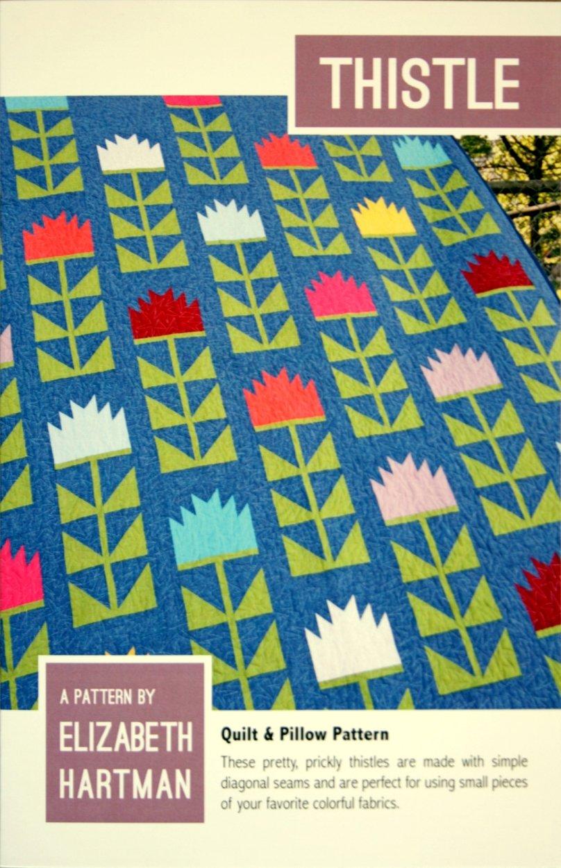 Elizabeth Hartman Thistle quilt pattern EH-022