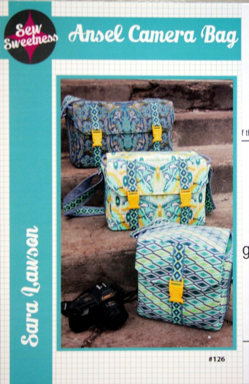 Sew Sweetness Ansel Camera Bag #126