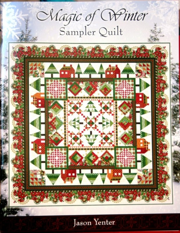 Jason Yenter Magic Of Winter Sampler Quilt Pattern 40 Fascinating Sampler Quilt Patterns