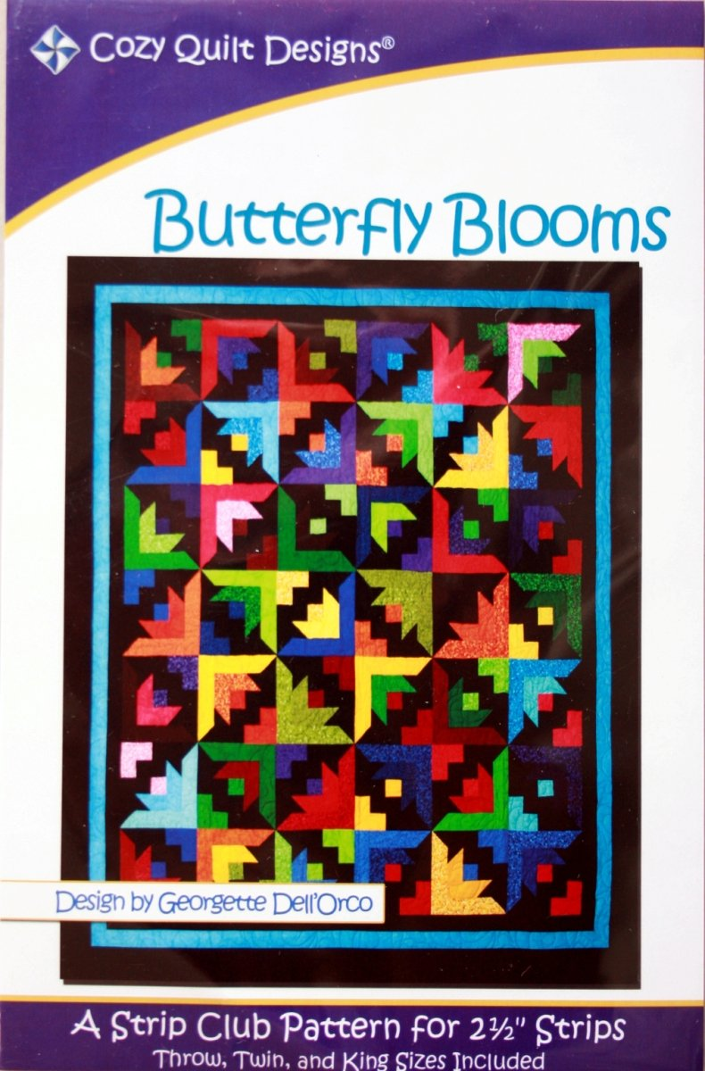 Quilt Designs Georgette Dell' Orco Butterfly Blooms : cozy quilts designs - Adamdwight.com