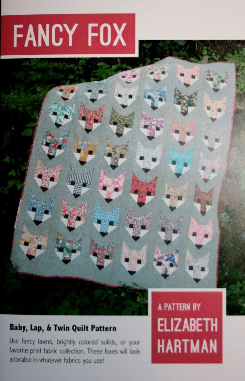 Elizabeth Hartman Fancy Fox quilt pattern EH-009
