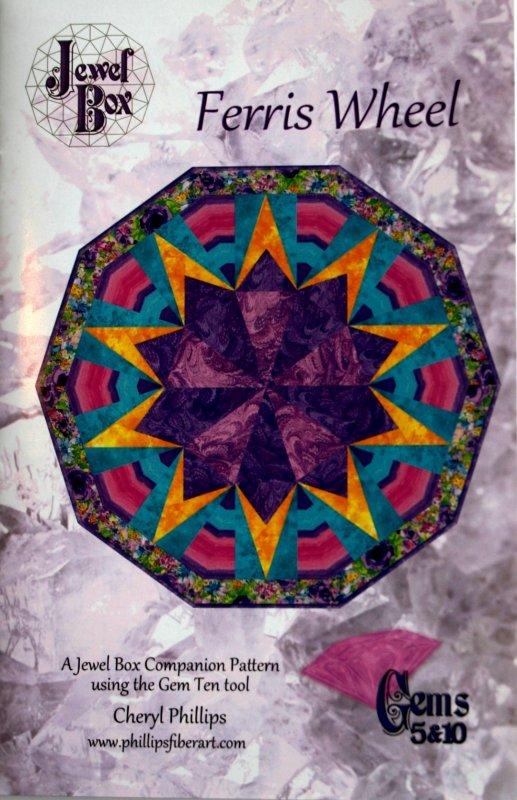 Jewel Box Cheryl Phillips Ferris Wheel table topper pattern