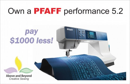 Above And Beyond Creative Sewing Nanuet NY PFAFF Dealer Cool Sewing Machine Repair North York