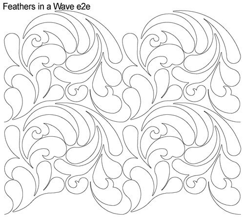 Feathers in a Wave