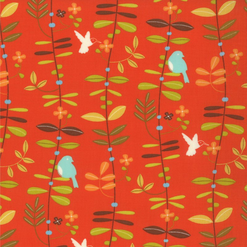 Wrens & Friends Tangerine 10003-13