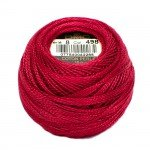 Pearl Cotton Balls, #8 Christmas Red 116-8-498