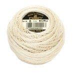 Pearl Cotton Balls, #8 Ecru 116-8-E