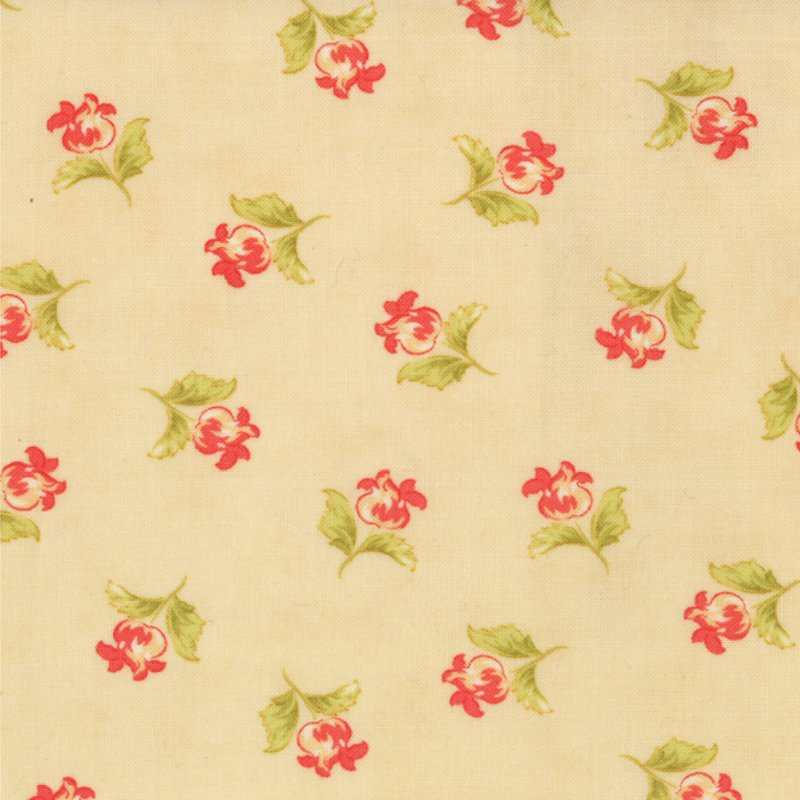 Honeysweet Poppy Blooms Biscuit 20215-18