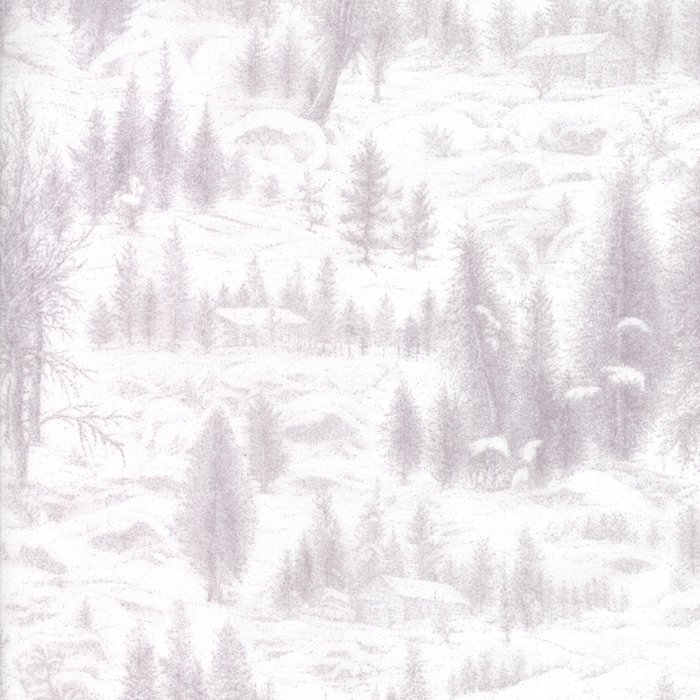 Forest Frost II, Snow 33230-11M