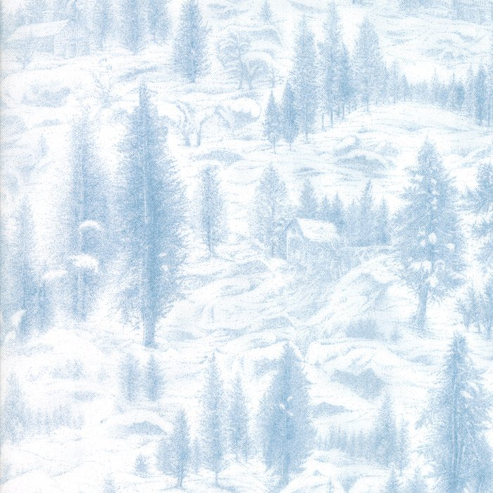 Forest Frost II, Icy Blue 33230-14M