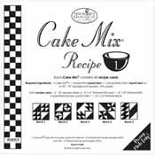 Cake Mix Recipe #1, CM1
