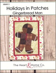 Holidays In Patches: Gingerbread Man