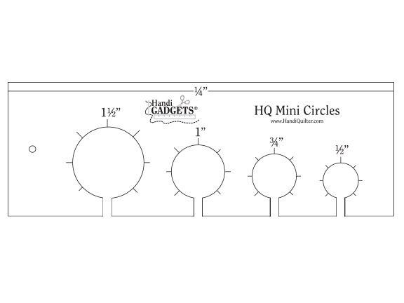 Ruler - HQ Mini Circles