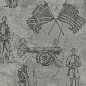 A Soldier's Story-Toile Slate Blue 2156-11