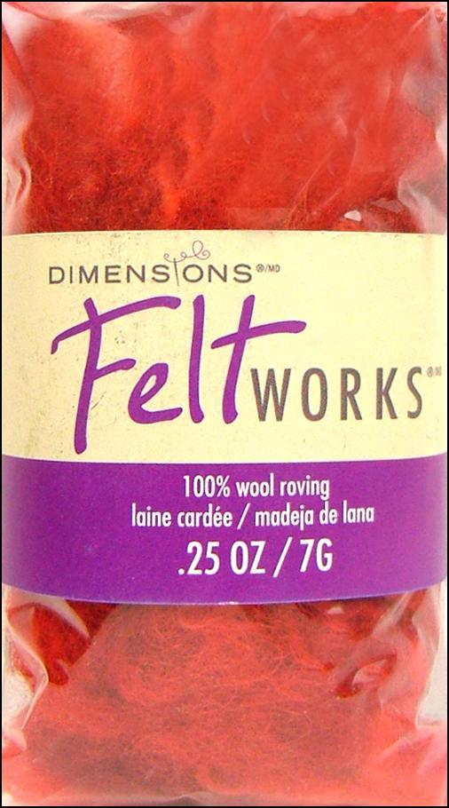 Felt Works 100% Wool Roving