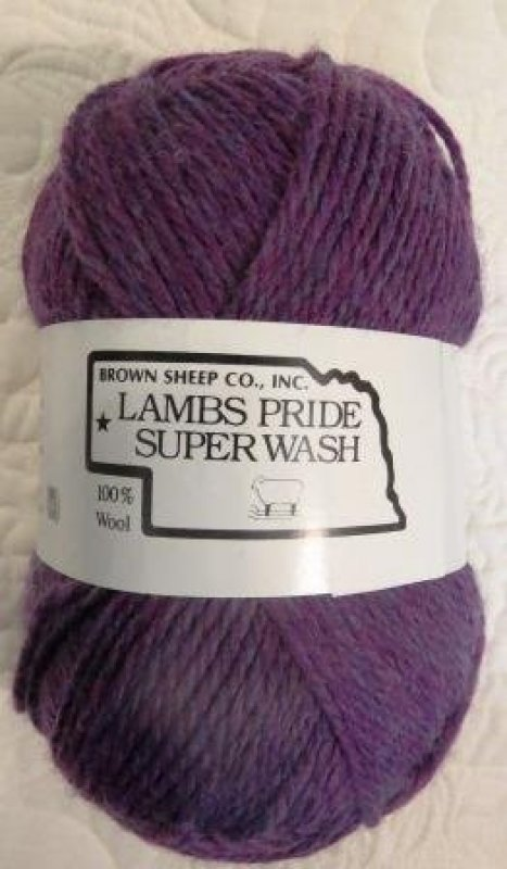 Mysterious Fuchsia, Lambs Pride Superwash, wool yarn, washable wool, Brown Sheep Company, Mitchell Nebraska, Made in the USA, SKU# SW27 020