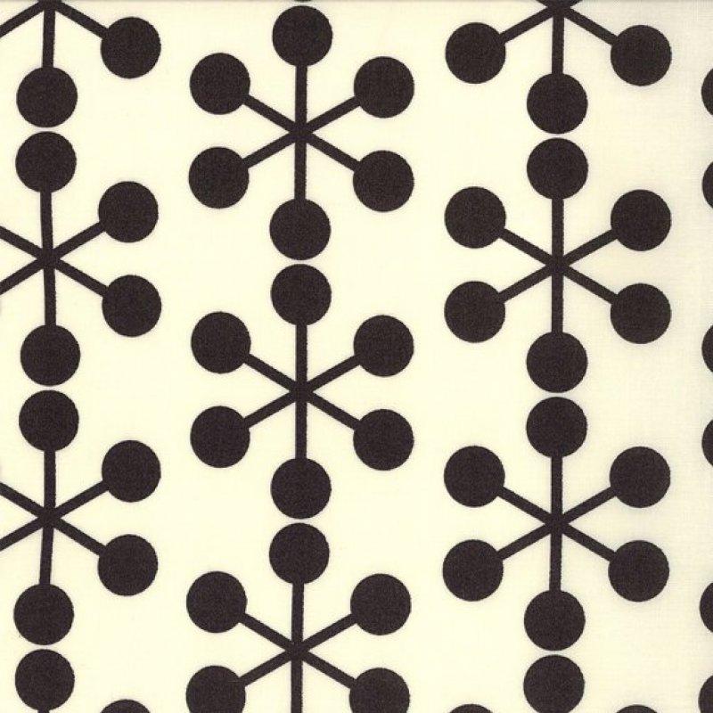 Comma, Zen Chic, Black and white Astrik in Ink, Moda SKU# 1511 11