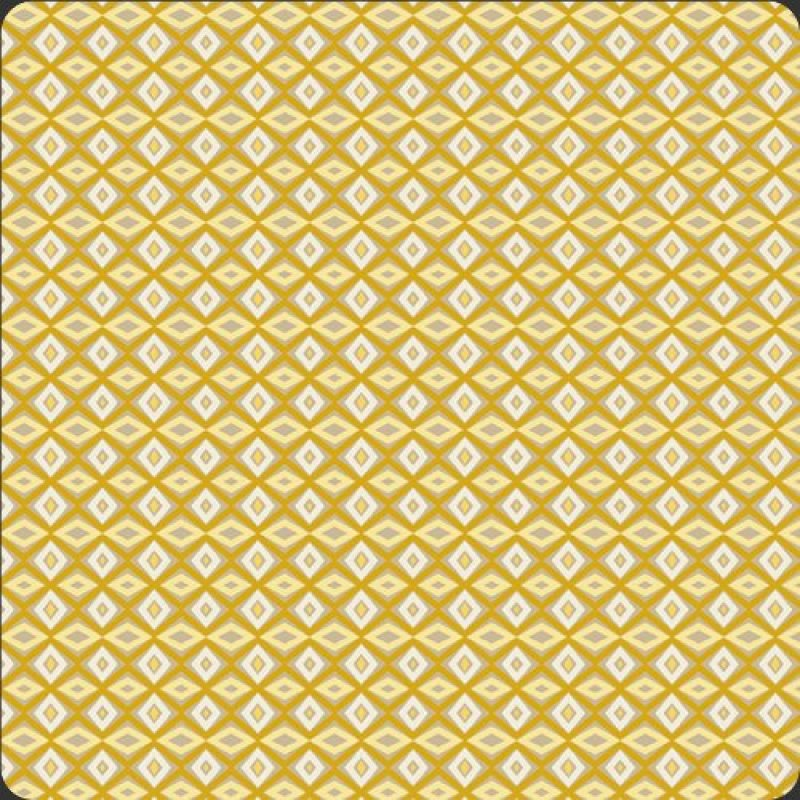 French Rivera, Art Gallery Fabrics, yellow diamond print, SKU# FR-5066