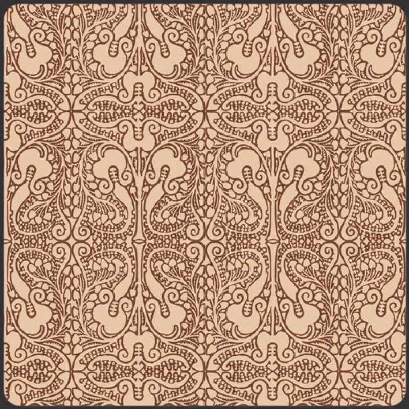 Lace Elements, Art Gallery Fabrics, Brown and beige lace print, SKU# LAE-1302