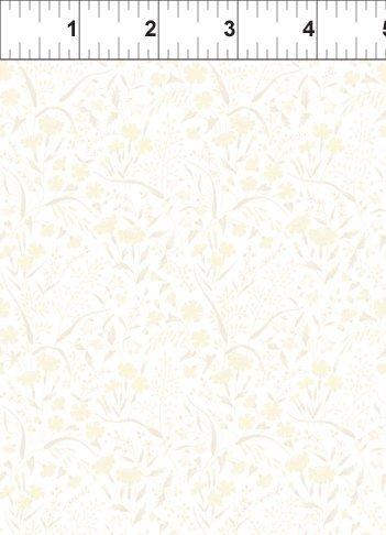 ITB Fabrics - Garden Delights - Grey Sky Studio 8GSE 5 - Light yellow and grey