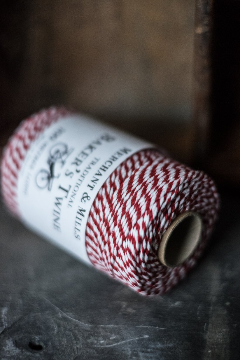 Merchant and Mills Bakers Twine Red