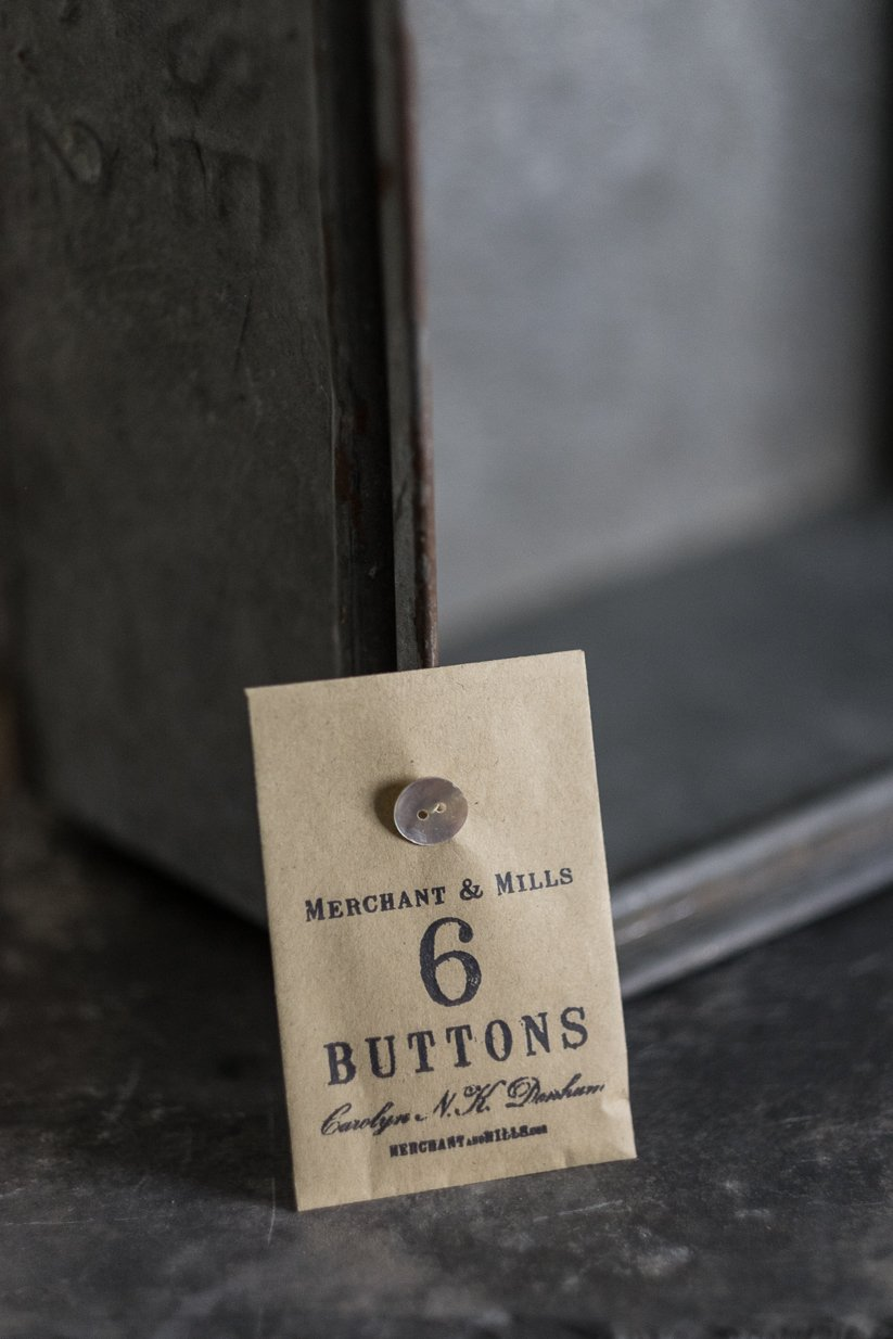 Merchant and Mills Buttons