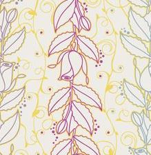 Spell Bound, Art Gallery Fabrics, Yellow with Roses