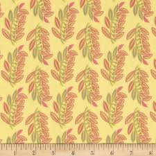 Chic Blooms, Art Gallery, CB-700, Yellow with leaves