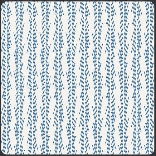 Dulcette Bluestar, CMR-2104, Art Gallery Fabrics, Blue and White Print Fabric