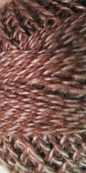 Cream Brown- Twisted Tweed, Valdani Threads, Perle Cotton size 12