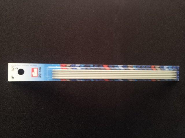 Inox Knitting Needle 8 metal DPN size 0