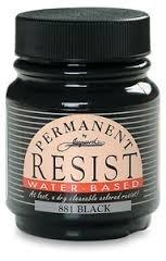 Jacquard Permanent Resist Water Based Black