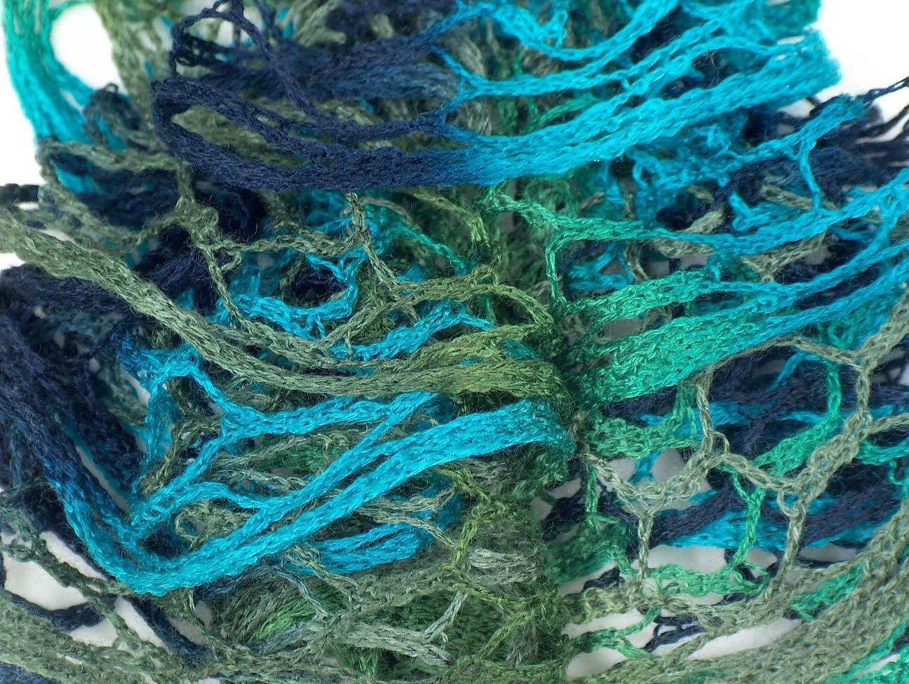 Flamenco Turquoise Navy Green-Ice Yarns