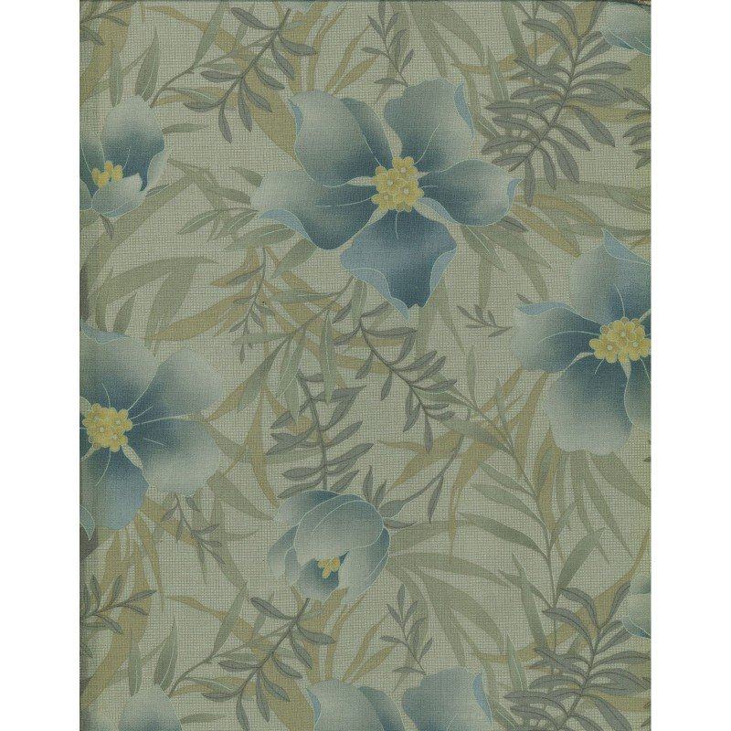 Maywood Studio, Serenity 23, Green and Blue Floral