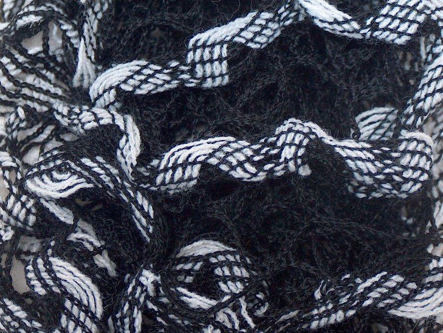 Mirabella Grey Black- Ice Yarns