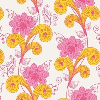 Sugar, Art Gallery Fabrics, White with Pink and Yellow Floral