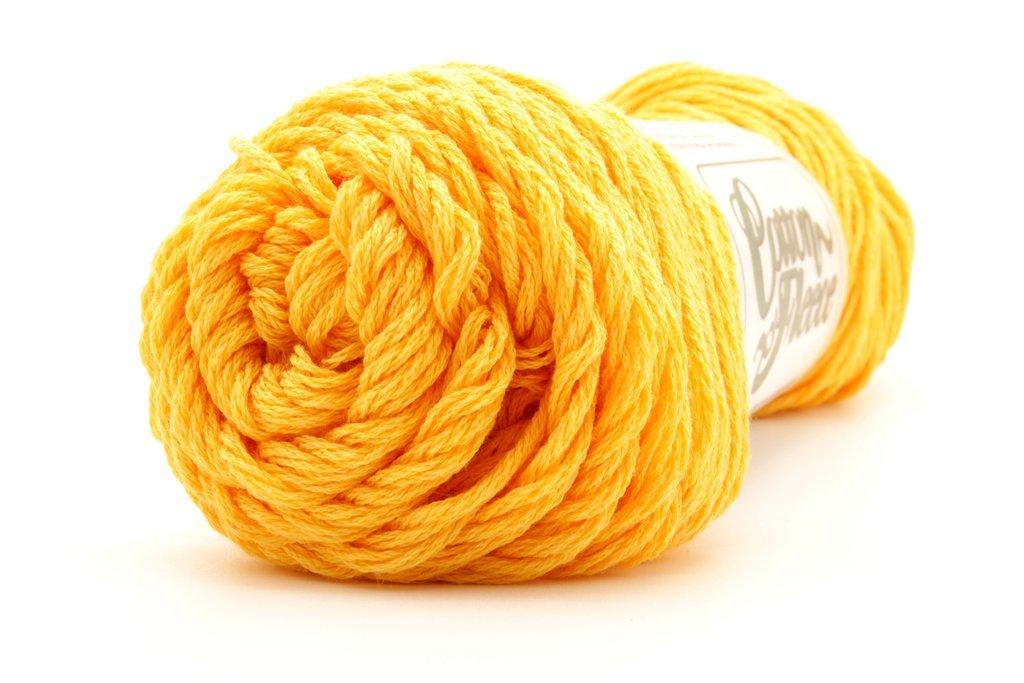 Sunflower Gold Cotton Fine Yarn - Brown Sheep Company