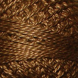 Golden Brown, Valdani Threads, Perle Cotton Size 8