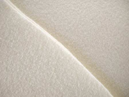 National Nonwoven 20%wool 80%rayon white felt