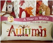 A YEAR IN WORDS AUTUMN PILLOW KIT
