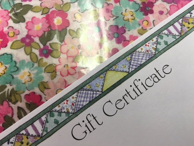GIFT CERTIFICATE 75