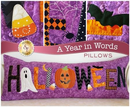A YEAR IN WORDS HALLOWEEN PILLOW KIT
