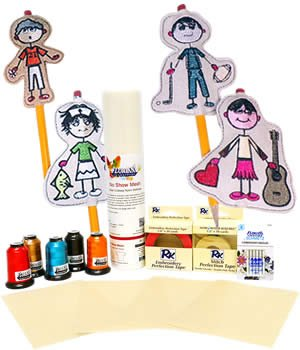 FLORIANI PENCIL TOPPERS CRAFT KIT