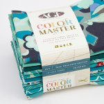 COLOR MASTER 10 HALF YDS NO.8 TEAL THOUGHTS