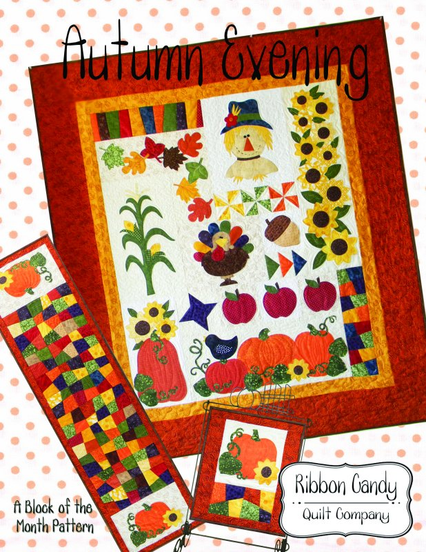 Autumn Evening - Block of the Month