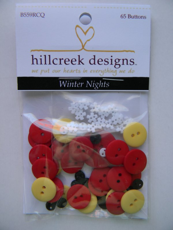 Winter Nights - button pack