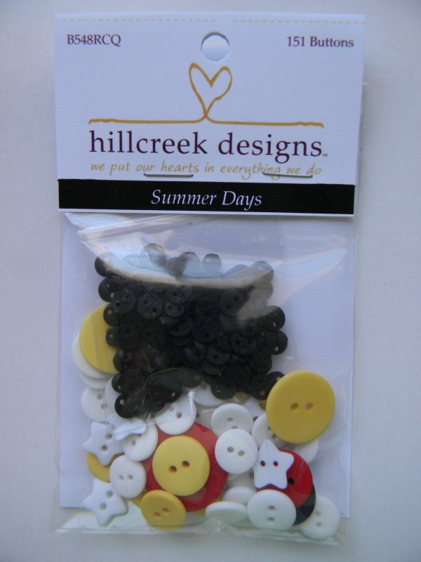 Summer Days - button pack
